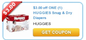 HOT $3 off New Printable Huggies Coupon (Jumbo Packs Included) and Deals All Around Town