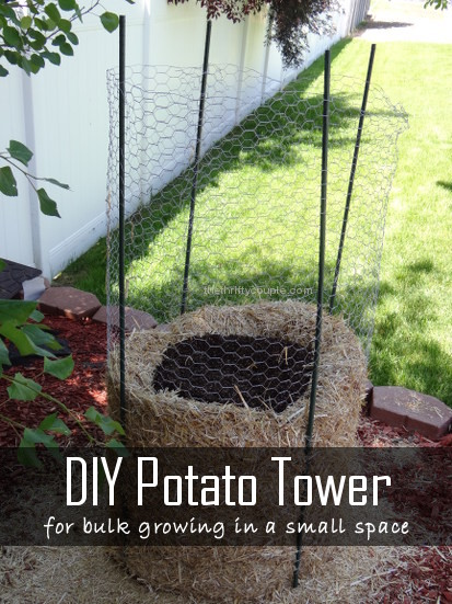DIY Potato Tower
