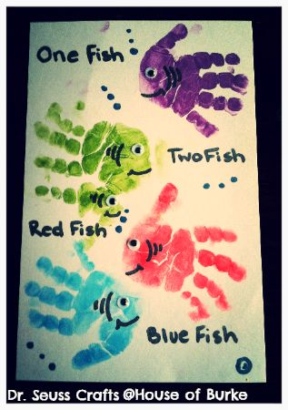 16 - House of Burke - Handprint Fish for Dr