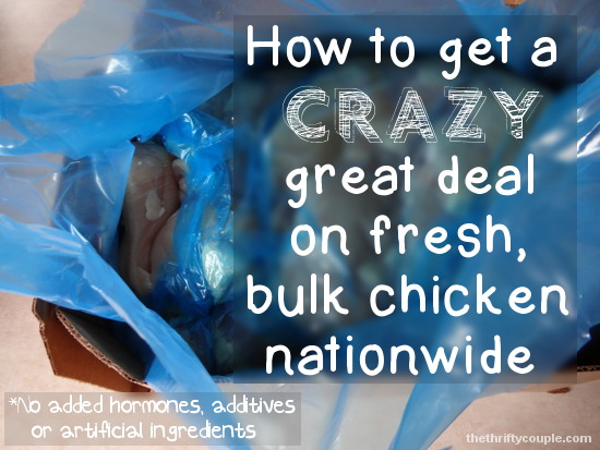 Crazy Nationwide Chicken Breast Deal: $1.69 lb. (Better Quality and Better Price Than The Grocery Store)