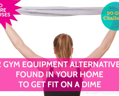 12 Gym Equipment Alternatives Already In Your Home