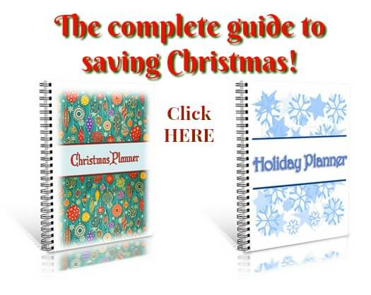 Christmas savings planner