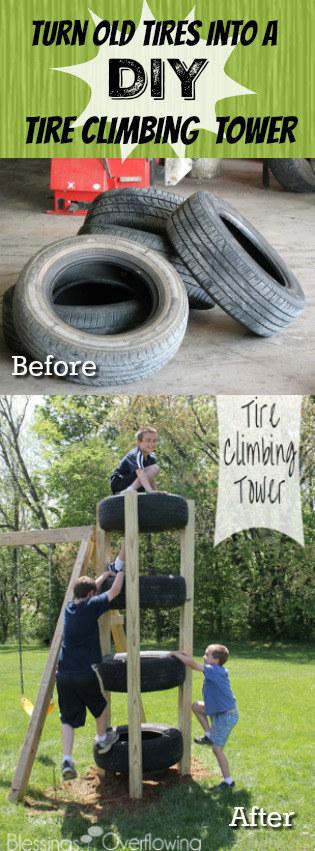 turn-old-tires-into-diy-tire-climbing-tower-project