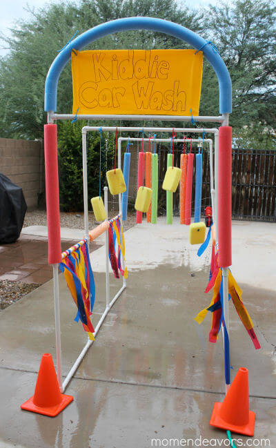 16 Brilliant Ideas To Create Your Own Diy Backyard Waterpark The Thrifty Couple
