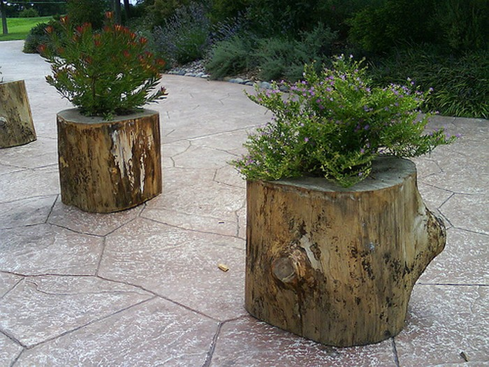 7 Diy Tree Stump Creative Ideas