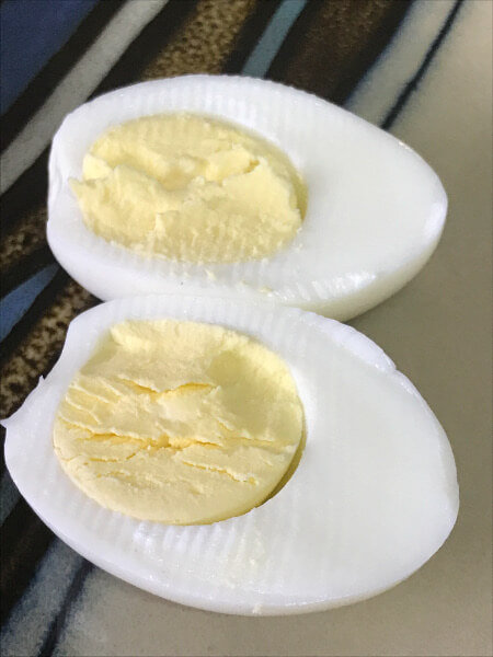 hard boiled eggs in an instant pot results