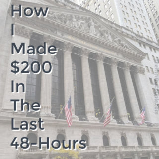 How I Made $200 in 48-Hours