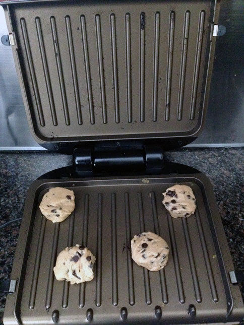 Bake Cookies on the Grill